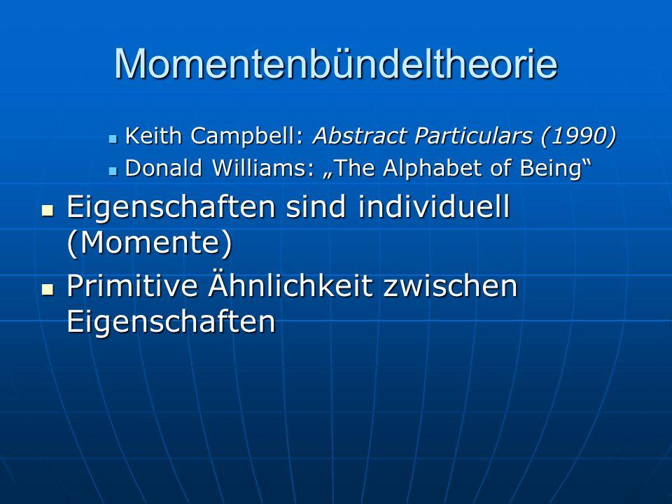 Momentenbündeltheorie