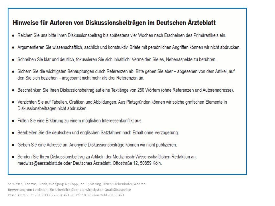 Semlitsch, Thomas; Blank, Wolfgang A. ; Kopp, Ina B