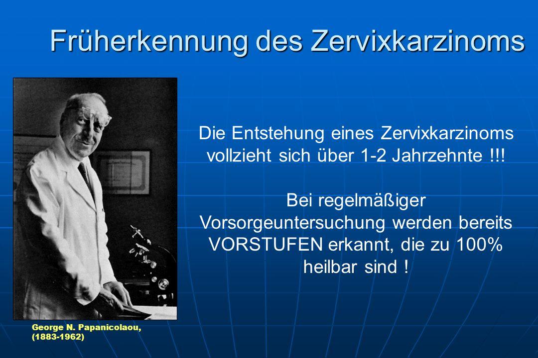 Früherkennung des Zervixkarzinoms