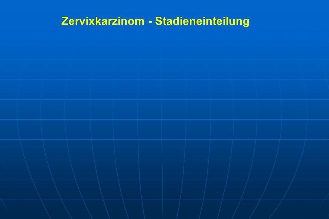 Zervixkarzinom - Stadieneinteilung