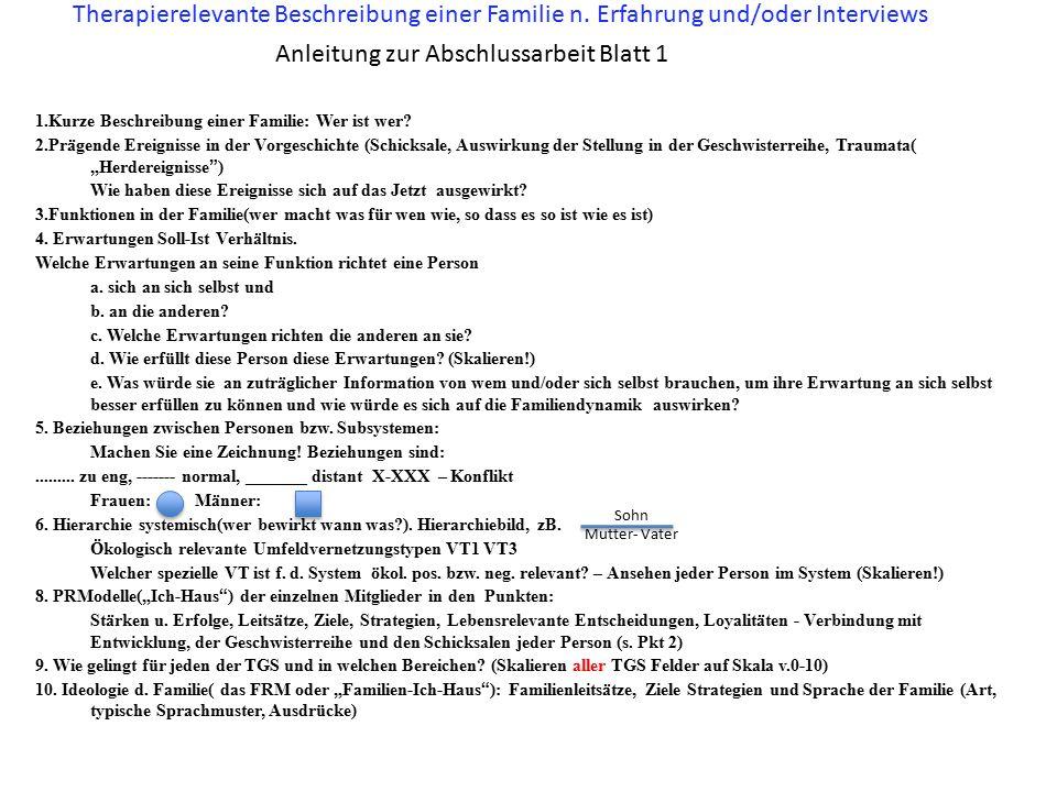 Anleitung zur Abschlussarbeit Blatt 1