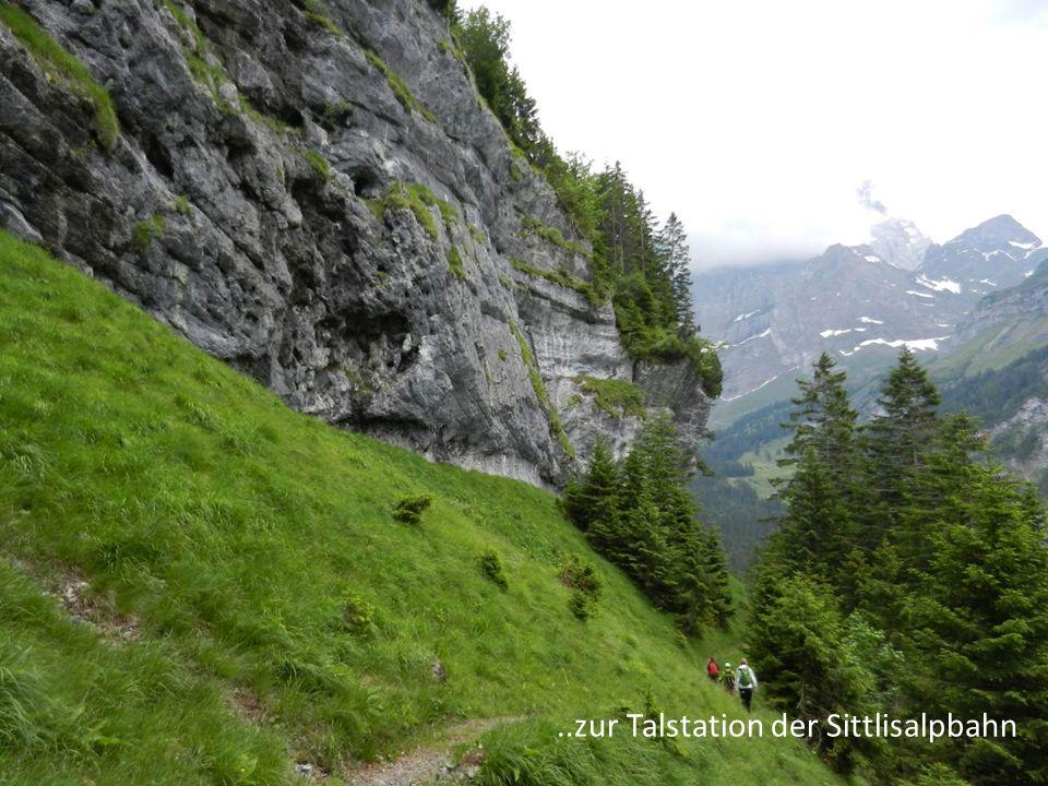 ..zur Talstation der Sittlisalpbahn