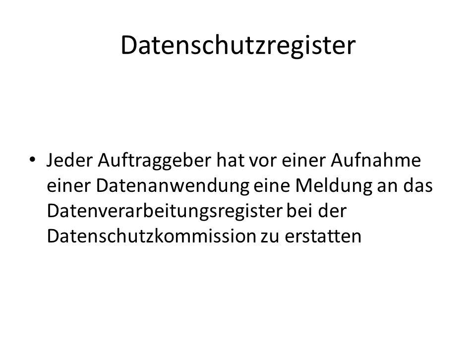 Datenschutzregister