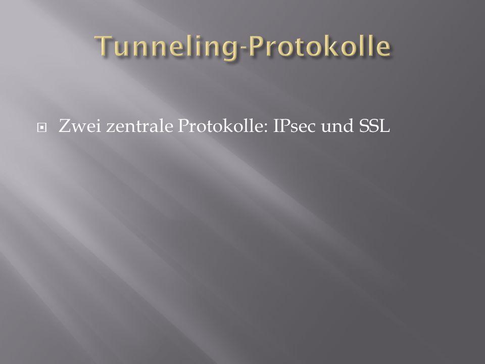 Tunneling-Protokolle