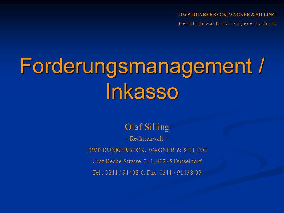 Forderungsmanagement / Inkasso