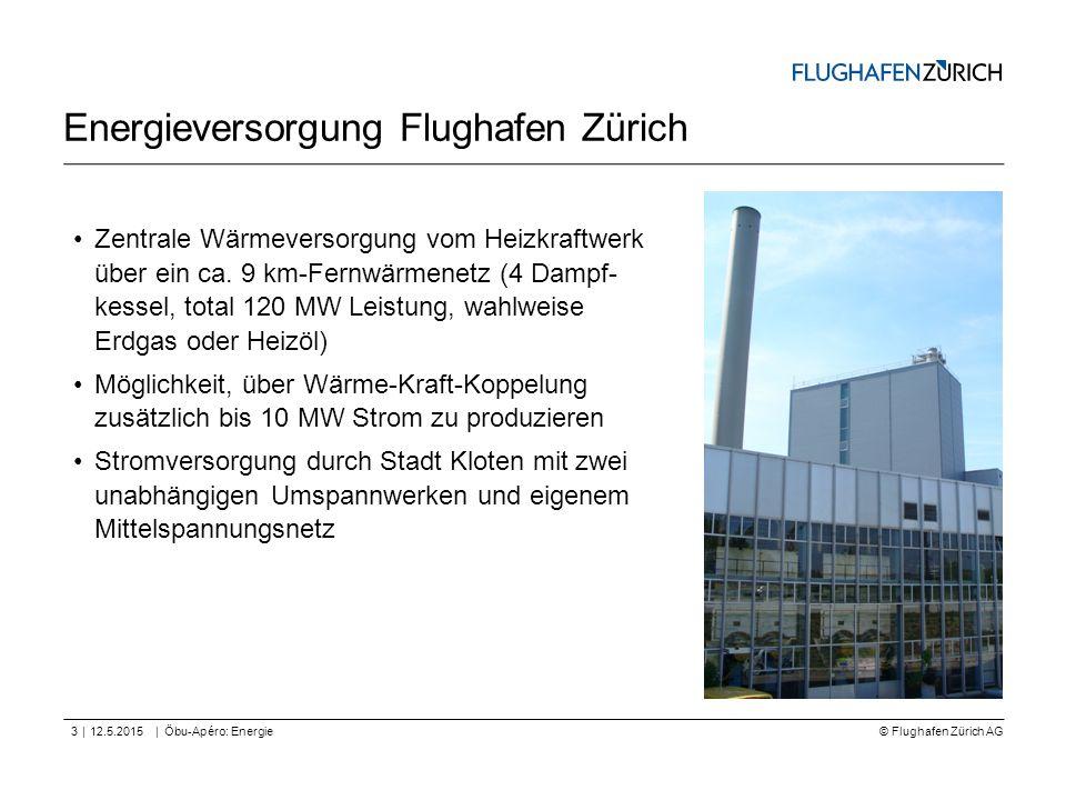 Energieversorgung Flughafen Zürich