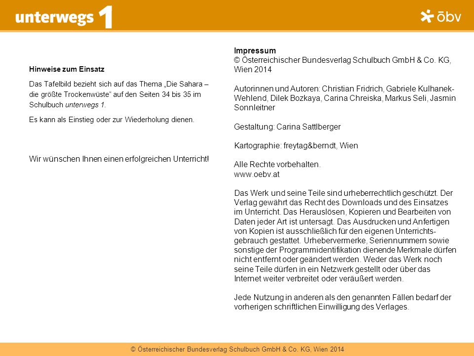© Österreichischer Bundesverlag Schulbuch GmbH & Co. KG, Wien 2014