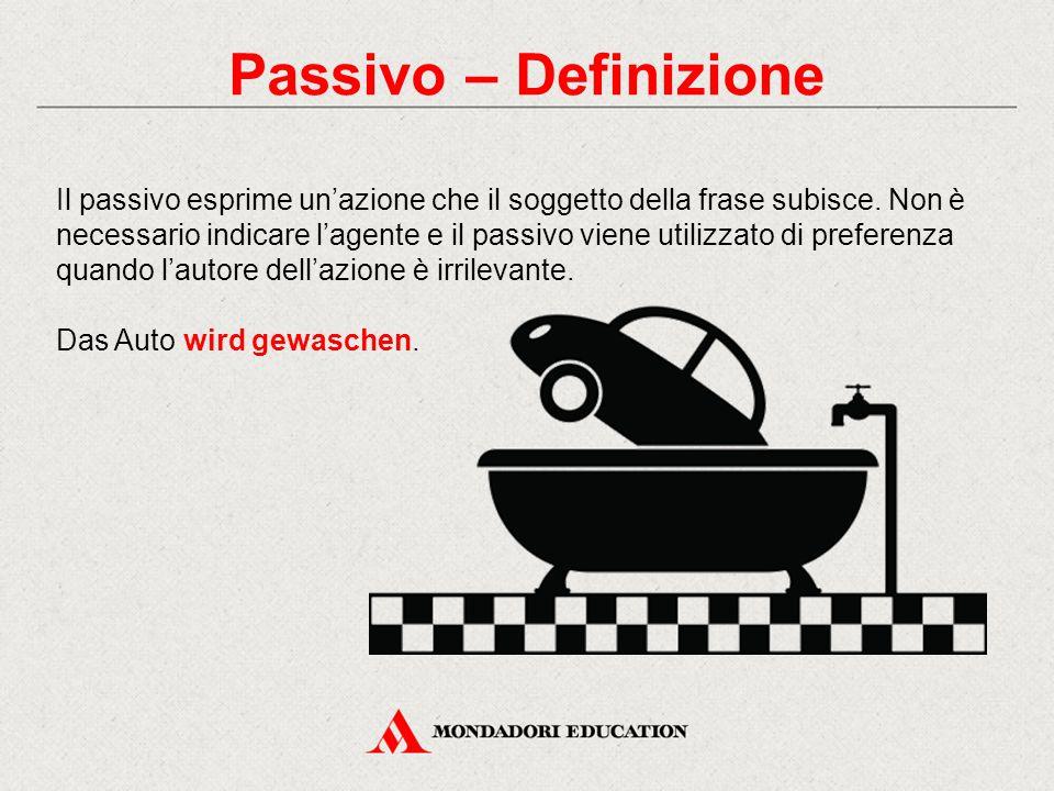 Passivo – Definizione
