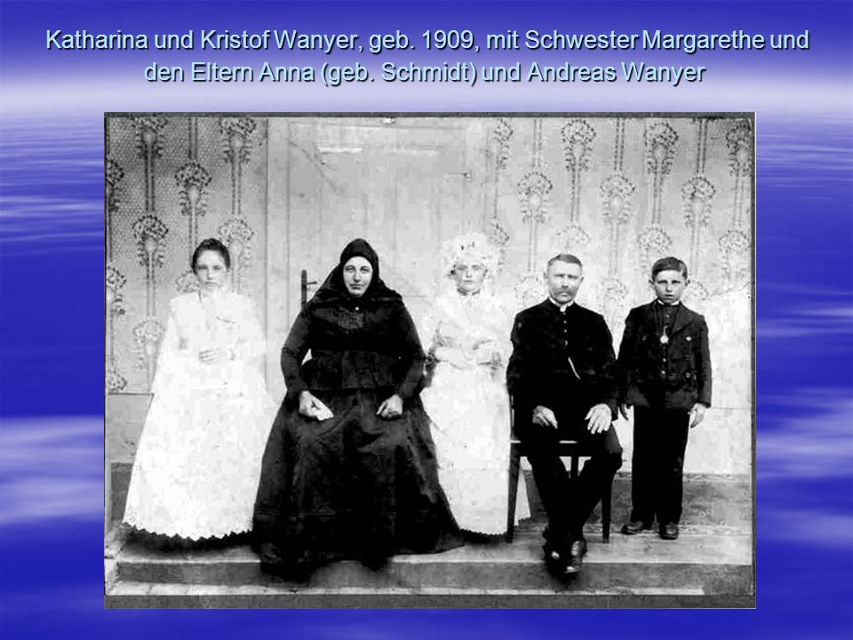 Katharina und Kristof Wanyer, geb