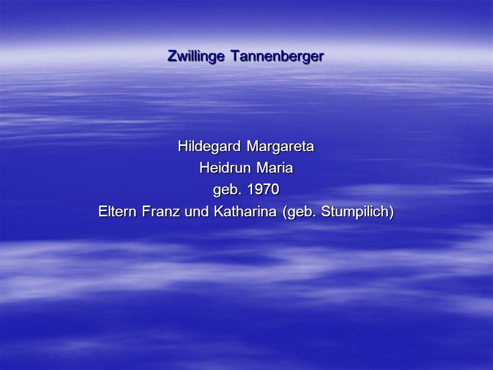 Zwillinge Tannenberger