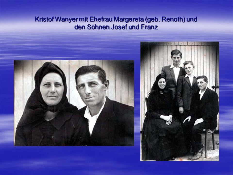 Kristof Wanyer mit Ehefrau Margareta (geb