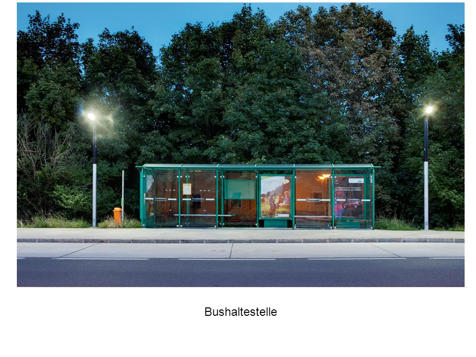 Bus stop, City of Vösendorf