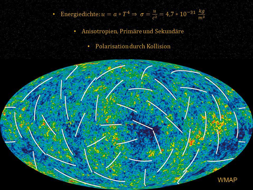 Energiedichte: 𝑢=𝑎∗ 𝑇 4 ⇒ 𝜎= 𝑢 𝑐 2 =4,7∗ 10 −31 𝑘𝑔 𝑚 3