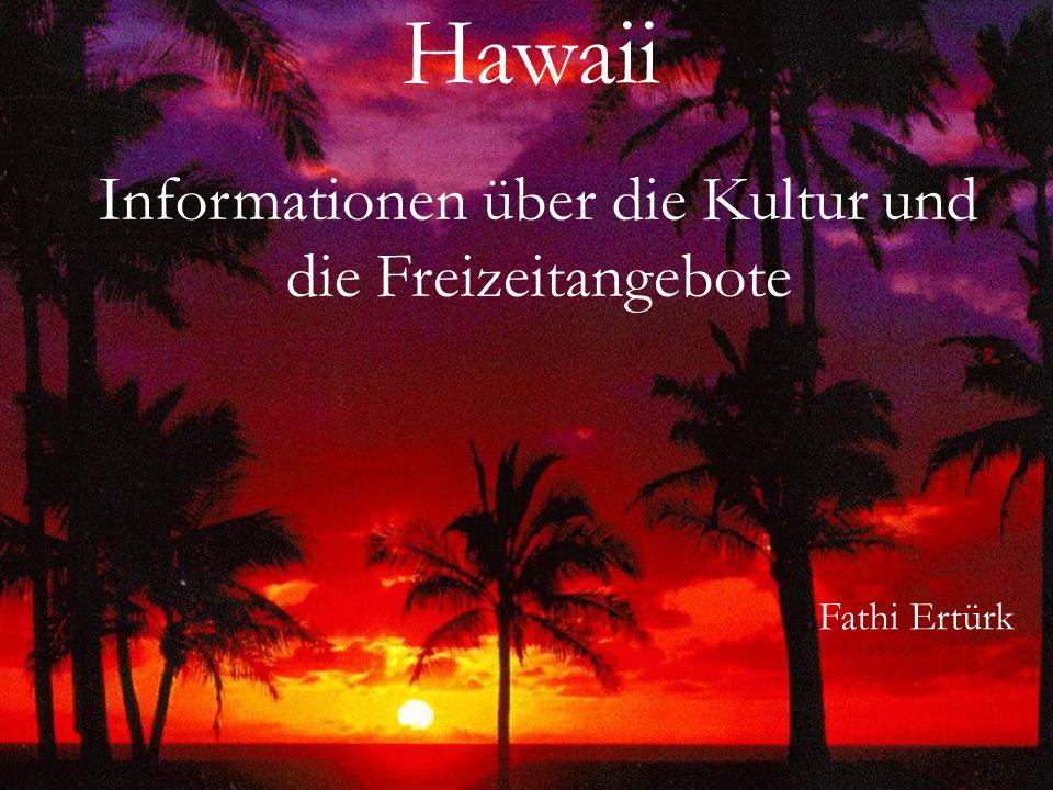 Informationen über die Kultur und die Freizeitangebote