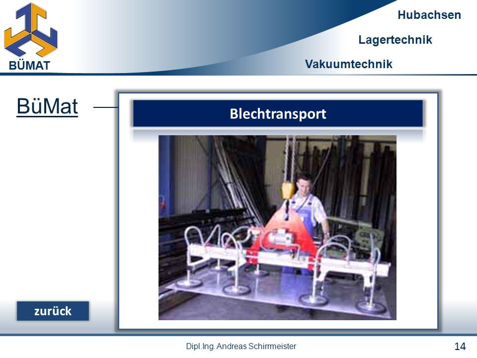 BüMat Blechtransport zurück 14