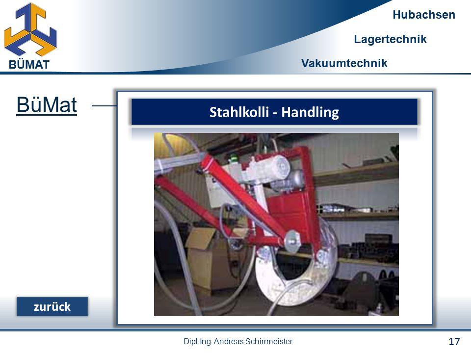 BüMat Stahlkolli - Handling zurück 17