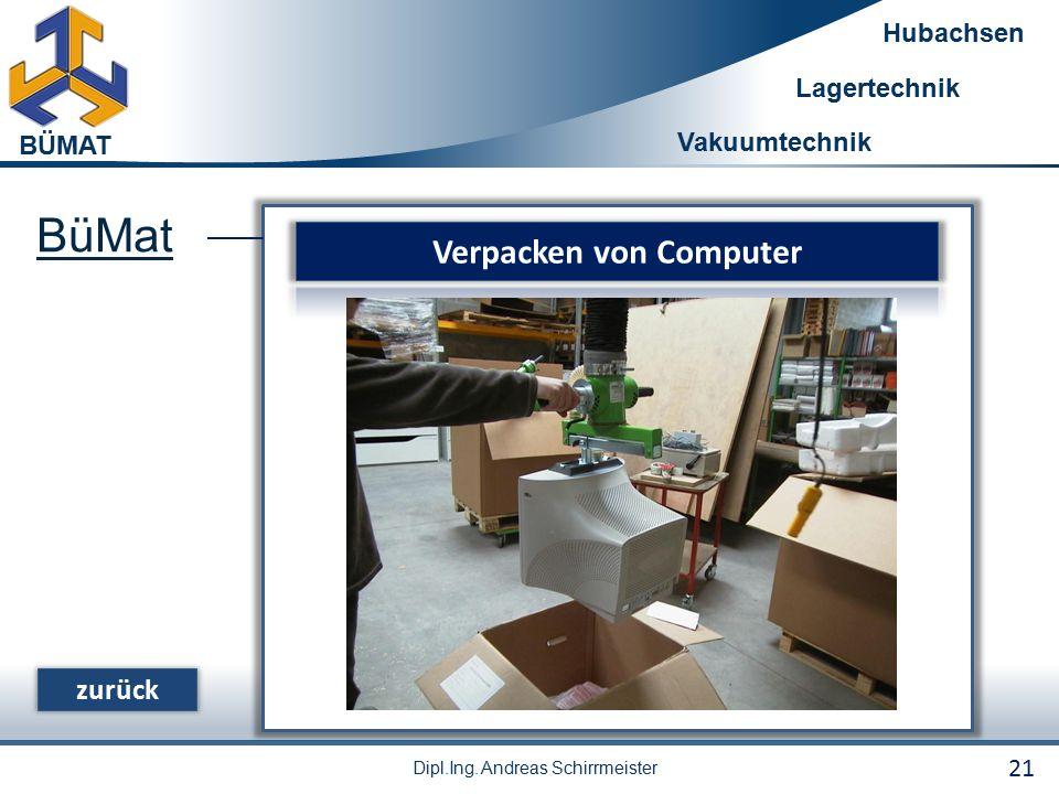 Verpacken von Computer