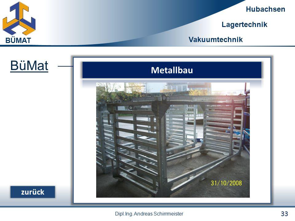 BüMat Metallbau zurück 33