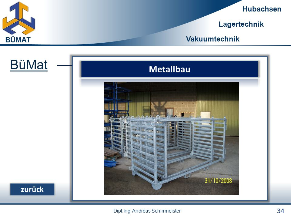 BüMat Metallbau zurück 34