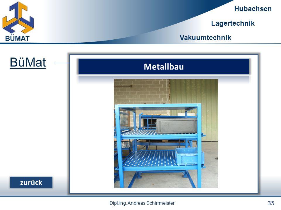 BüMat Metallbau zurück 35