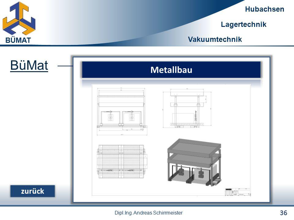 BüMat Metallbau zurück 36