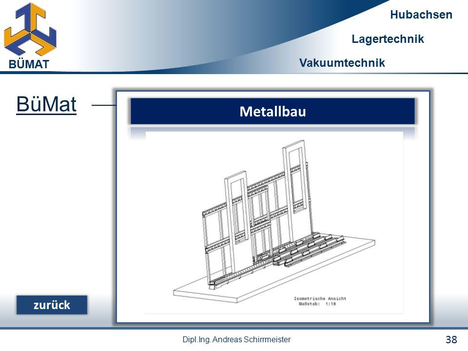 BüMat Metallbau zurück 38