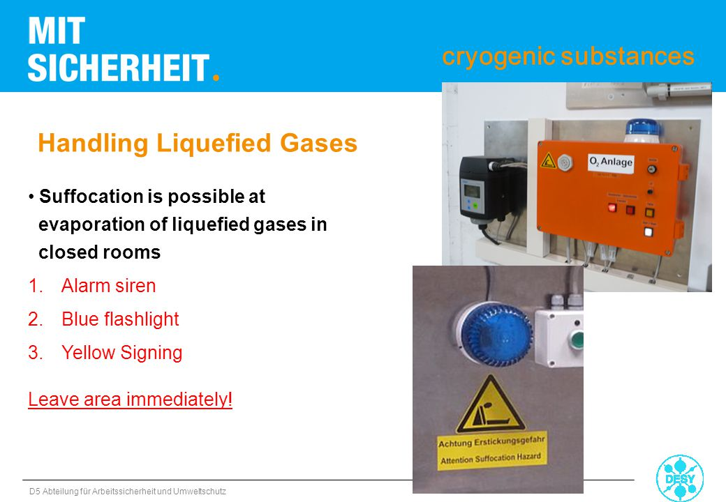 Handling Liquefied Gases
