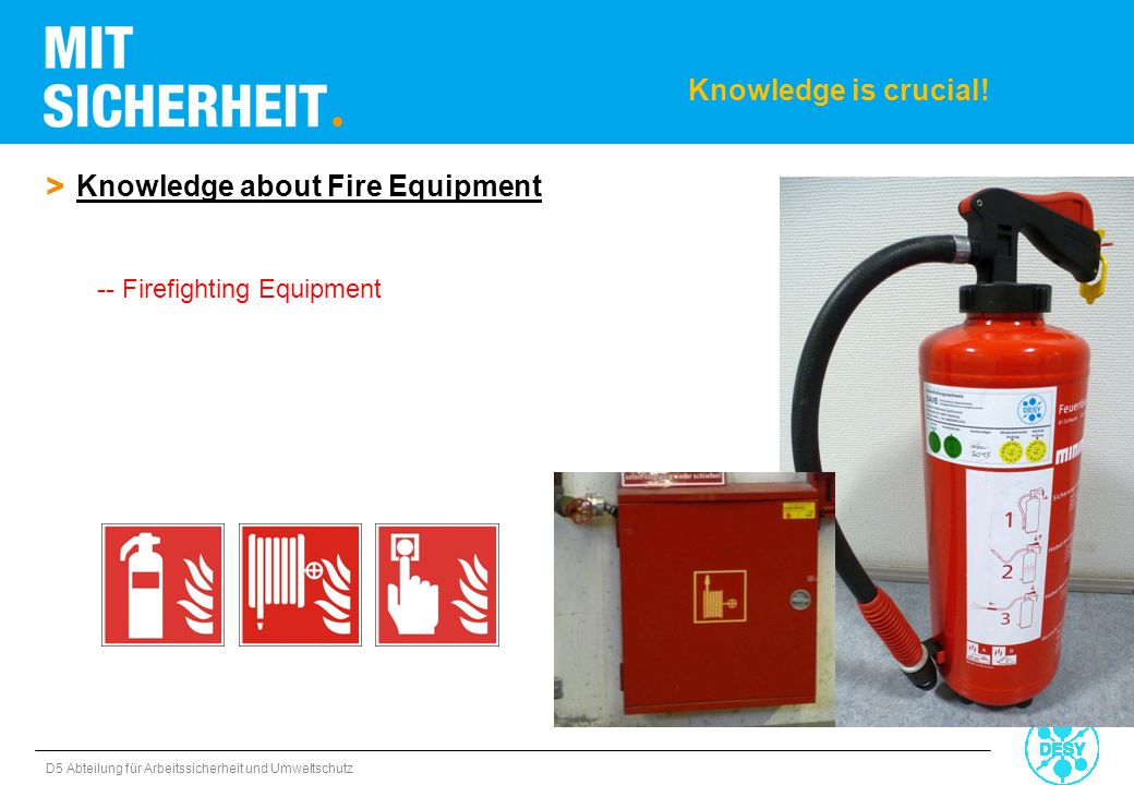 Knowledge about Fire Equipment