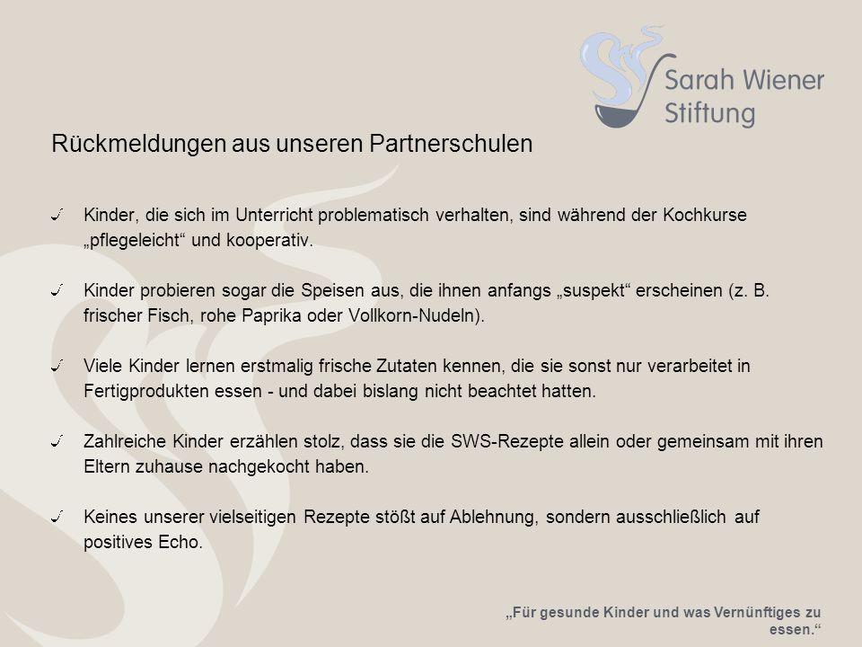 Rückmeldungen aus unseren Partnerschulen