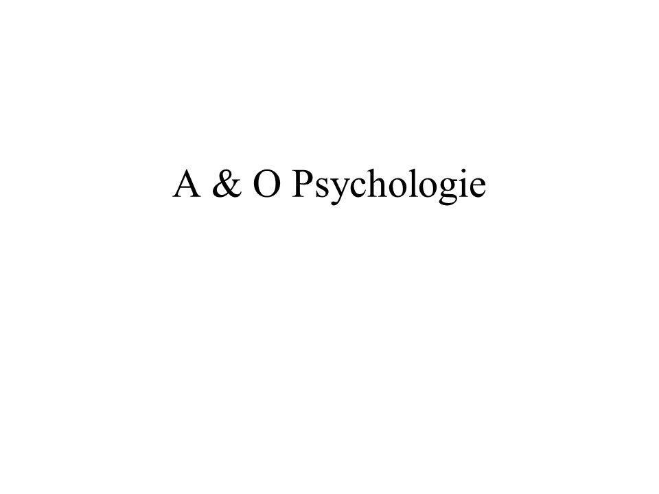 A & O Psychologie