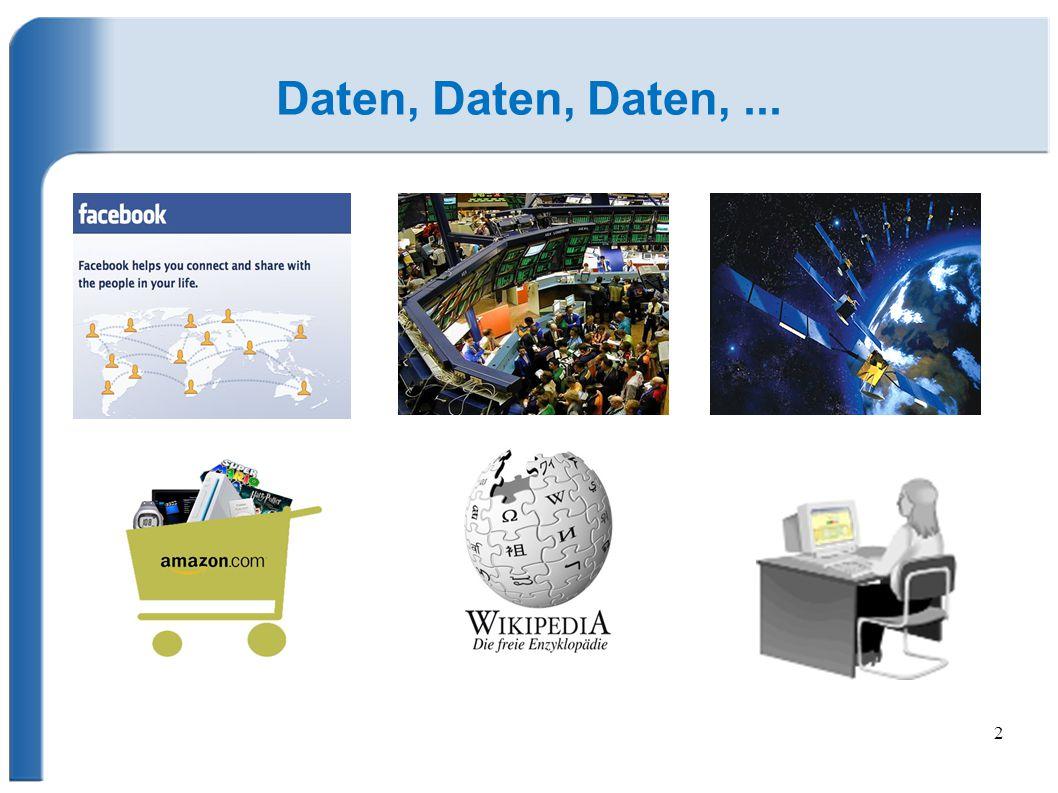 Daten, Daten, Daten, ...