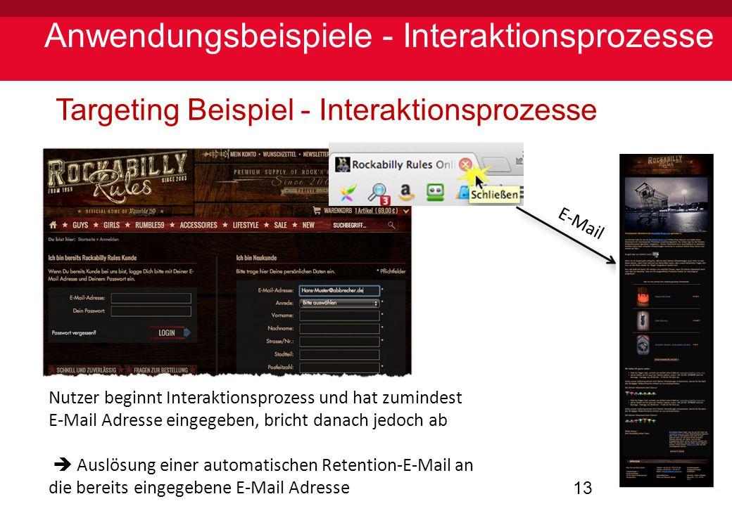 Anwendungsbeispiele - Interaktionsprozesse