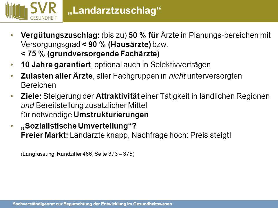 """Landarztzuschlag"