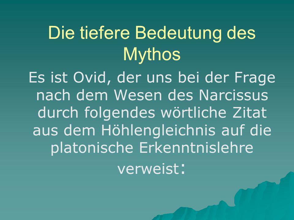 Die tiefere Bedeutung des Mythos