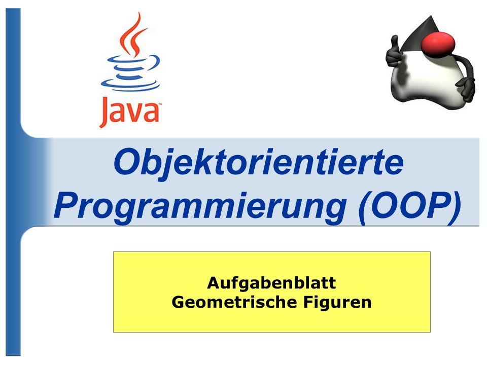 Objektorientierte Programmierung (OOP)