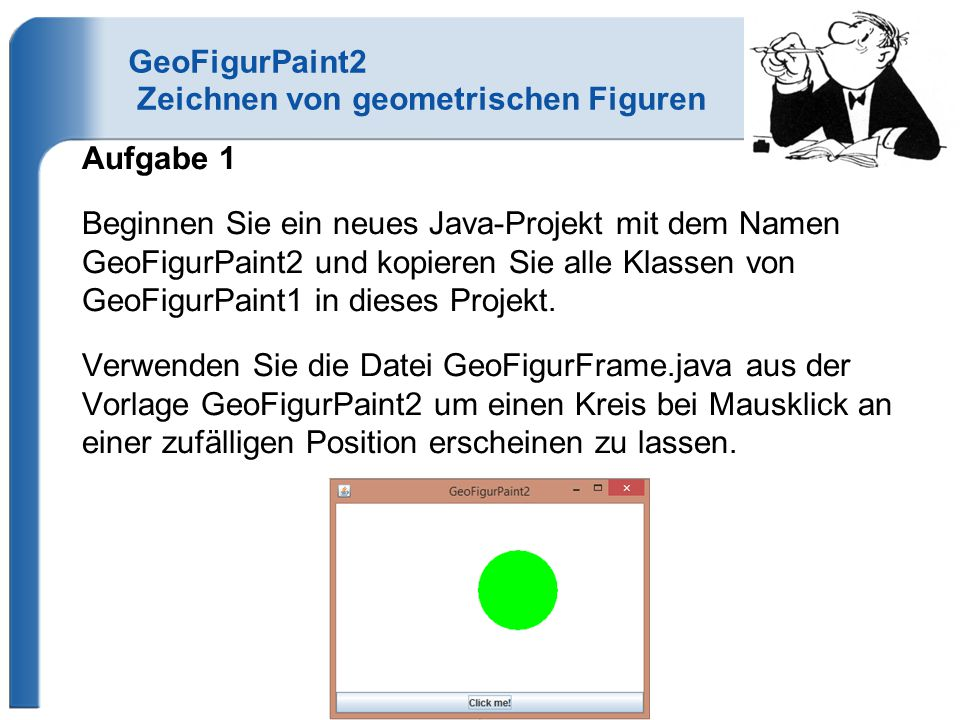 GeoFigurPaint2 Zeichnen von geometrischen Figuren