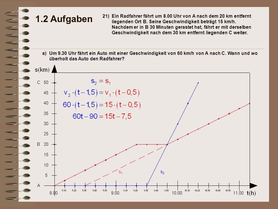 1.2 Aufgaben 21)