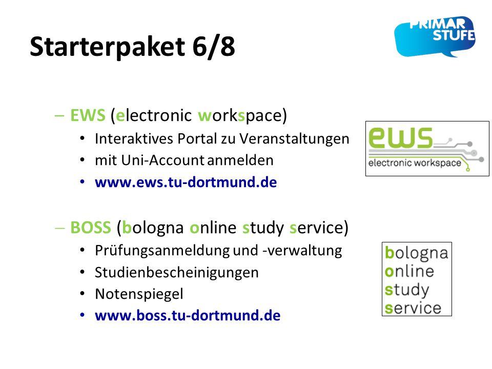 Starterpaket 6/8 EWS (electronic workspace)