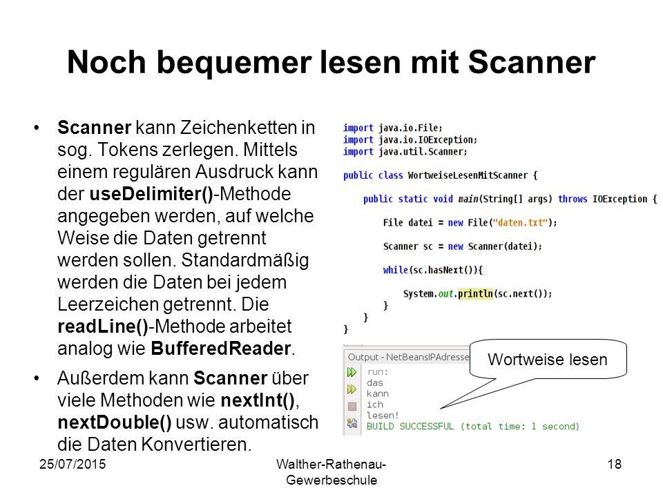 Noch bequemer lesen mit Scanner