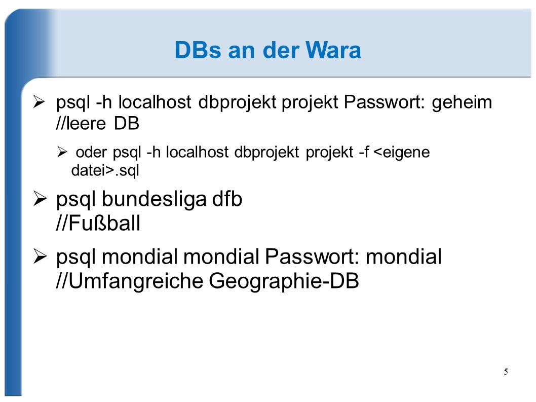 DBs an der Wara psql bundesliga dfb //Fußball