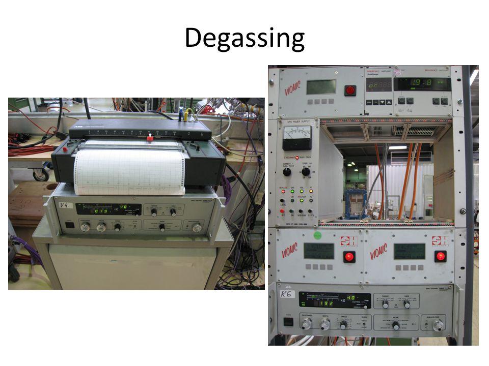 Degassing