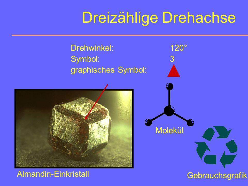 Dreizählige Drehachse