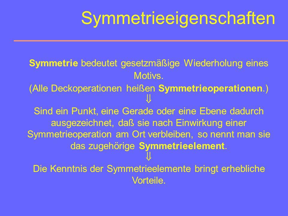 Symmetrieeigenschaften