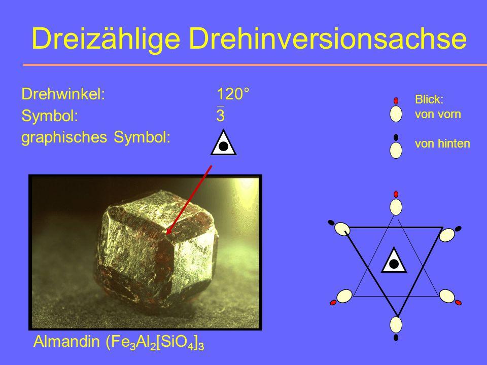 Dreizählige Drehinversionsachse