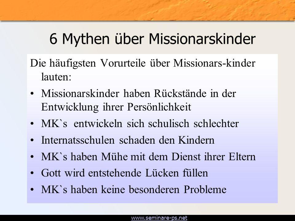 6 Mythen über Missionarskinder