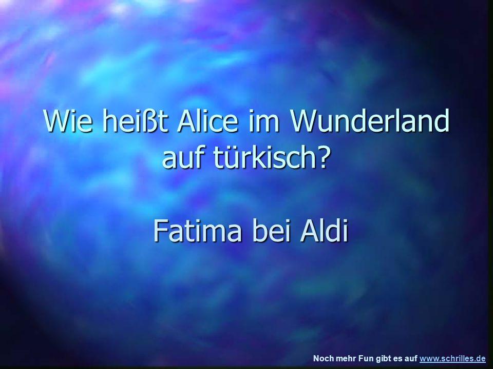 Wie heißt Alice im Wunderland auf türkisch