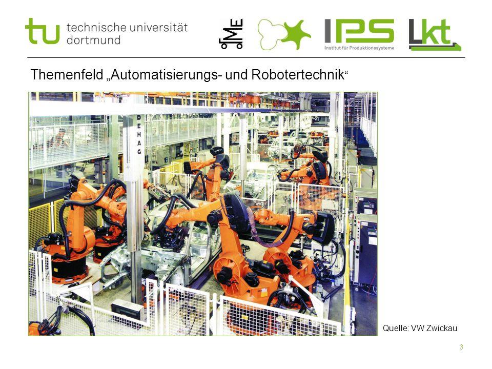 """Themenfeld """"Automatisierungs- und Robotertechnik"""