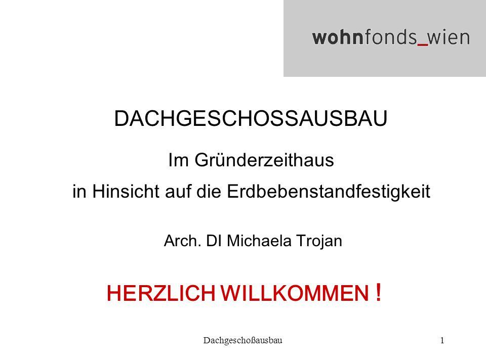 DACHGESCHOSSAUSBAU HERZLICH WILLKOMMEN !