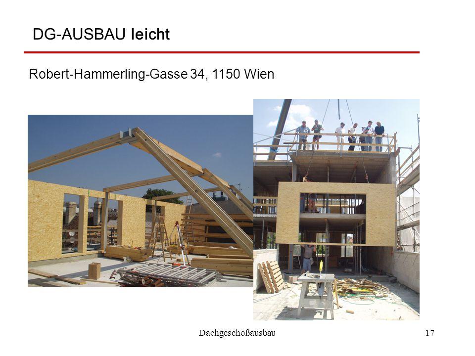 DG-AUSBAU leicht Robert-Hammerling-Gasse 34, 1150 Wien
