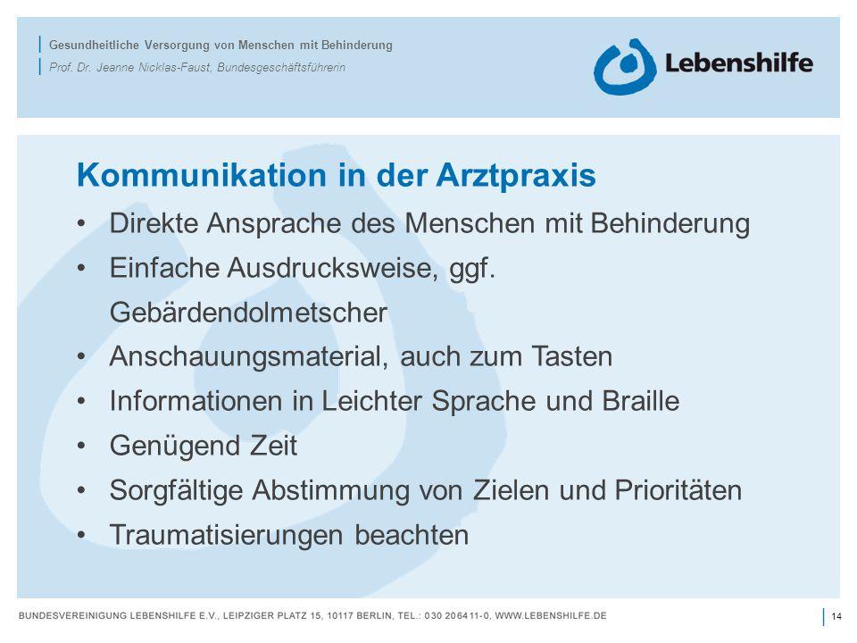 Kommunikation in der Arztpraxis